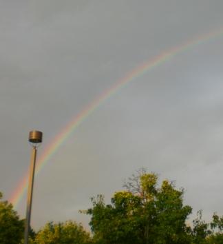 rainbow in Huntsville, AL